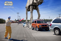 Star Wars Weekend 2013:  AT-AT (nomad7674) Tags: fun star starwars weekend disney posters wars advertisements atat 2013