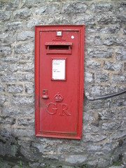 George 5th Wall Box, Lyme Regis, DT7 79 (aecregent) Tags: postbox royalmail lymeregis gvr 170513 dt779