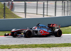 Jenson Button - McLaren MP4-28 (Luis Prez Contreras) Tags: espaa de f1 mclaren button gran catalunya circuit jenson gp premio montmel 2013 mp428