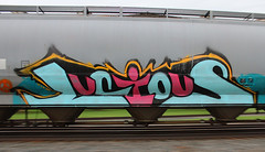 Lucious (view2share) Tags: railroad wisconsin cn train graffiti spring track transport may tracks rail railway trains transportation rails tagging railways wi freight springtime railroads lucious canadiannational freighttrain railroadcar railroading 517 freightcars freightcar 2013 trackage l517 cn517 may2013 may192013