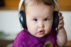 Headphones (Lalitree) Tags: toddler roman headphones
