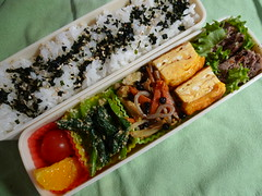 Wednesday : Today's Bento (hidelafoglia) Tags: wednesday bento 0522 20130522 hdknr20130522