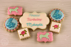 IMG_0736 (Artfully Delicious Cookies) Tags: cookies vintage pony soiree decorated