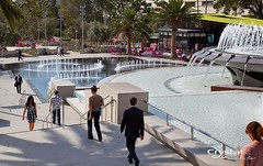 Grand Park - Los Angeles (Crystal Fountains) Tags: show park lighting urban public water fountain pool landscape lights design la losangeles memorial play artistic crystal famous jets pad led fountains splash interactive feature membrane sustainable nozzle revitalization grandpark waterskin sequencing pool crystal water arthurjwill features reflecting feature fountains