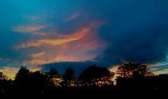 (Patrick Hadfield) Tags: sunset sky clouds edinburgh flickrandroidapp:filter=none