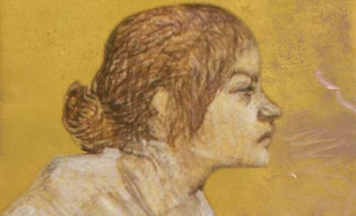 "Las Madeleines escuchando la soleada soledad, descripciones de Henri de Toulouse Lautrec (1889) y Pablo Picasso (1904). • <a style=""font-size:0.8em;"" href=""http://www.flickr.com/photos/30735181@N00/8815723306/"" target=""_blank"">View on Flickr</a>"