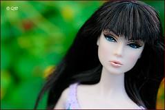 Lilith (astramaore) Tags: blue fashion hair toy doll long blueeyes after rocking brunette ever blackhair royalty lilith fashionroyalty