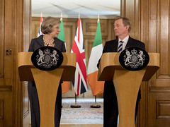 PM Theresa May welcomes Enda Kenny to 10 Downing Street (The Prime Minister's Office) Tags: tomevans theresamay 10downingstreet primeminister british taoiseach endakenny republicofireland london uk