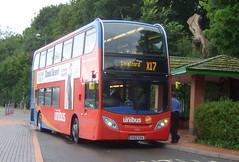 Stagecoach Unibus (Hesterjenna Photography) Tags: unibus stagecoach stagecoachmidlands warwickshire kx12gxa psv bus coach alexander alexanderdennis dennis enviro enviro400 coventry parkandride passengers