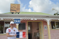 Ryan Janek Wolowski waving the flag of France in Collectivité de Saint-Martin France French side of the island of Saint Martin (RYANISLAND) Tags: france french saintmartin stmartin saint st collectivity martin collectivityofsaintmartin collectivité collectivitédesaintmartin marigot frenchcaribbean frenchwestindies thecaribbean caribbean caribbeanisland caribbeanislands island islands leewardislands leewardisland westindies indies lesserantilles antilles caribbees
