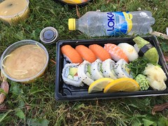 Lunch 26/7 (Atomeyes) Tags: mat sushi fisk ris miso soppa