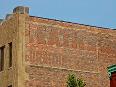 Leath's Furniture, Moline, IL (Robby Virus) Tags: moline illinois ghost sign signage leaths leath furniture rugs brick wall building
