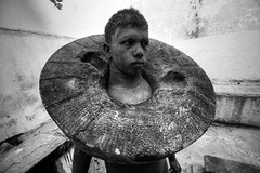 மல்லன் (Kals Pics) Tags: fighter wrestler body muscles mind soul strength kasi varanasi banares pov perspective uttarpradesh india sport art life travel people stone pehlwani weight exercise fitness martialart blackandwhite colorless monochrome blackwhite incredibleindia kashi benares historic ancient mallan kusthi malyudham kusti wrestling kalspics