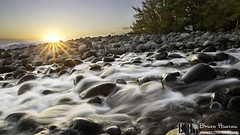 Rocked By a Brook / Berc Par Un Ruisseau (Bruno Hoarau) Tags: sunset canon 2470 tamron 6d landscape iledelarunion ngc sun ciel sky