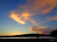 sunset (Giuseppe_Cer) Tags: sila cecita cupune calabria italia lago colori atmosfera