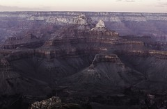 mather point, grand canyon. (Victoria PaImberg) Tags: arizona grand canyon sunset colorado river 50mm 14 national park us united states america arizonapassages passages nature mountains roadtrip summer night lightroom photoshop purple red