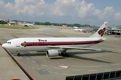 HS-TAG Airbus A.300B4-605R Thai (pslg05896) Tags: hstag airbus a300 thai sin wsss singapore changi