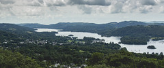 Lake Windermere (Soap Creatives) Tags: quiet water woods widescreen england town pov sky skyscape forest green horizon landscape lake lakedistrict lakewindermere color colour colors colours clouds view vast panoramic blue nature