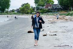La plage, c'est merveilleux!!! (dodo-12-37) Tags: victoria canada bc ile de vancouver plage bernache panoramique oiseau cerf volant olympic mountain bouchart garden reflet fleurs arbre fontaine