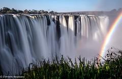 Victoria Falls, Zimbabwe (Doreen Bequary) Tags: d500 waterfall victoriafalls falls water zimbabwe africa rainbow landscape