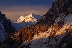 Karpogoro: Shafts of morning light (Shahid Durrani) Tags: biafo glacier karakorams gilgit baltistan pakistan