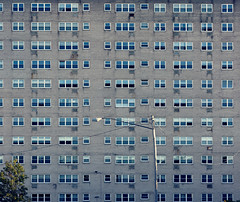 Not all is lost (aleadam) Tags: building urban apartment complex facade window repetition pattern architecture geometry square