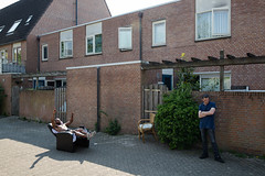 (Peter de Krom) Tags: beverwaard rotterdam music dancing lying sunbathing summer chair beats radio sound system party