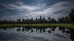 Angkor Wat (RoosterMan64) Tags: angkorwat cambodia clouds landscape siemreap longexposure leefilters reflection reflections