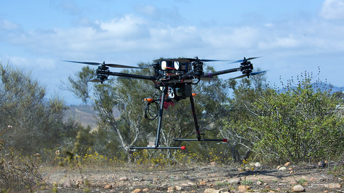 Aerial LIDAR on Octocopter