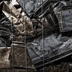 L1090397-Edit (John F. Roberts) Tags: leicasl scrap metal garbage dump recycle frozenintime