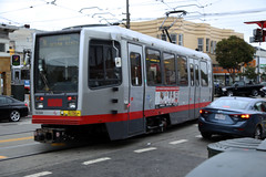 N Line on Judah Street (Hawkeye2011) Tags: california sanfrancisco usa 2016 railway train transport nline muni
