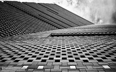 The Joy of Bricks II (Fred-Adams) Tags: architecture london museum tatemodern abstract abstractarchitecture bricks building city facade lookup lookingup modernarchitecture moderndesign modernism pattern repeat repetition urban urbanabstract