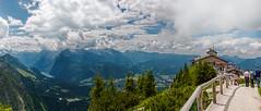 DSC_4443-Pano (svetlana.koshchy) Tags: berchtesgaden germany kehlsteinhaus berchtesgadener land landscape bavaria bayern alps alpen panorama