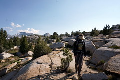 M (Franklyn W) Tags: yosemite sierra nationalpark backpacking tuolumnemeadows tuolumneriver lyellcanyon johnmuirtrail irelandlake vogelsang highsierra granite wilderness backcountry hiking