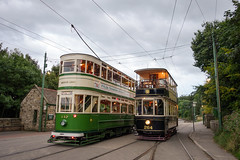 Trams passing (chrisjc90) Tags: tram heritage old blackpool beamish photoshoot