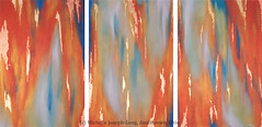 Abstract Triptych (Fine Art by Michelle Joseph-Long) Tags: acrylicpainting triptych abstractpainting abstracts modernfineart contemporaryfineart modern paintings contemporary