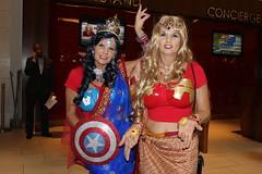 Hindi Avengers Unite! (Romanopolis) Tags: dragoncon2016 marypoppins family fun robin r2d2 tedroman timroman udreplicas dawnofjustice armoredbatman deadrobin harrypotter bellatrixlestrange
