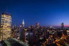 Times Square Sunset (@wongstephen) Tags: timesquare sunset empirestatebuilding hellskitchen manhatten newyork newyorkcity