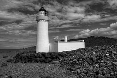 "CAIRNRYAN LIGHTHOUSE, LOCH RYAN, CAIRN POINT, CAIRNRYAN, WIGTOWNSHIRE, SCOTLAND. (ZACERIN) Tags: ""cairnryan lighthouse"" ""loch ryan"" ""cairn point"" ""cairnryan"" ""scotland"" ""dumfries and galloway"" ""wigtownshire"" ""alan stevenson"" ""zacerin"" ""christopher paul photography"" ""nikon d800"" ""hdr"" ""selective colour"" colour pictures"" ""hdr pictures in blue"" ""blue"" ""1964"" ""1847"" ""lighthouses of the uk"" ""lighthouses"" ""lighthouse"" ""pictures ofcairnryan ""history cairnryan ""landscapes"" ""seascapes"" ""irish sea"" ""scottish lighouses"" scotland"" sea lighthouses"""
