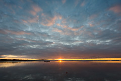 Sunset (OCS82) Tags: sun nikon sunset finland kustavi clouds outdoors archipelago d600 landscape suomi sea sky autumn