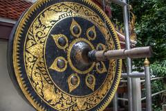 Gong (pbr42) Tags: thailand bangkok gong religion art