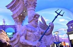 Vegas Caesars Palace (dr_marvel) Tags: vegas casino resort gambling lasvegas god spear venetian nevada sculpture caesars
