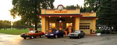 Gilmore's 2016 (avionx) Tags: ford mustang fox ii cobra stallion shell gas station gilmore car museum starman