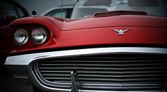'59 thunderbird (jtr27) Tags: dsc03547e jtr27 sony alpha alpha7 a7 ilce7 ilce csc mirrorless konica hexanon ar 50mm f14 manualfocus 1959 59 thunderbird tbird classic car automobile auto chrome grille ford