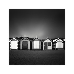 * Brighton Beach Bathing Box Study 2 * (^soulfly) Tags: victoria monochrome melbourne australia 2016 brightonbeach bathingboxes canon5dmarkii canon5dm2 ef1740mm ef1740mmf40l bwfilter nd110