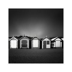 * Brighton Beach Bathing Box Study 2 * (^soulfly) Tags: victoria monochrome melbourne australia 2016 brightonbeach bathingboxes canon5dmarkii canon5dm2 ef1740mm ef1740mmf40l bwfilter nd110