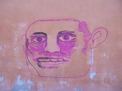015 (en-ri) Tags: testa head rosa modena wall muro graffiti writing nero faccia viso volto face