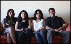 Gang of four (Nagarjun) Tags: bangalore ruchi kaushal vedant anindita ipsita malathi sowmya murli casaansal