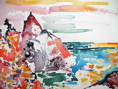 _42india13ipod (looklooklooking) Tags: sunset sea wild cliff india london art beach nature rock photography rocks artist contemporary details fineart indianocean paintings kerala varkala caves watercolour jules geology fineartphotography rockformation tropicalbeach volcaniclandscape naturalsprings keralacoast juleslooklooklooking looklooklooking juleslooklooklookingcom instagramjuleslooklooklooking