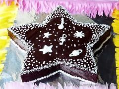 Chocolate Orange Star Cake (VeganMagic) Tags: chocolate ganache nondairy vegancake starcake orangecake eggless kidscake